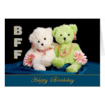 BFF - BIRTHDAY - FRIENDS FOREVER GREETING CARD
