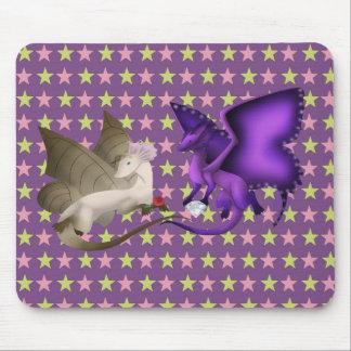 BFF Butterfly Dragon Mouse Pad 2