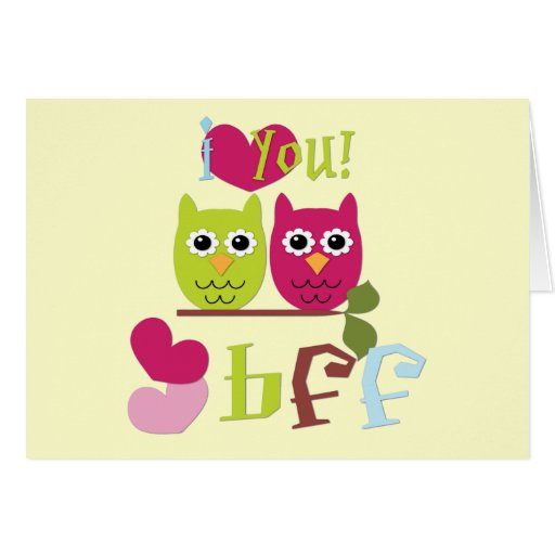 BFF GREETING CARDS