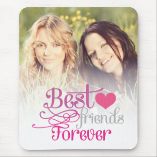 BFF - Fashion Best Friends Forever with Photo Mouse Mat