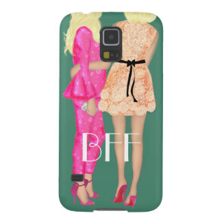BFF Fashionista fashion Friends Forever Love Pink Cases For Galaxy S5