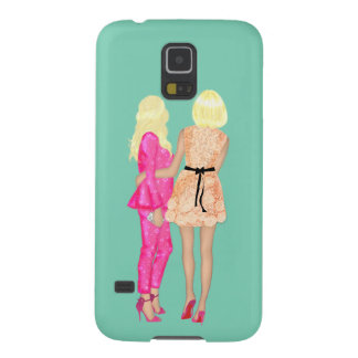 BFF Fashionista fashion Friends Forever Love Pink Case For Galaxy S5