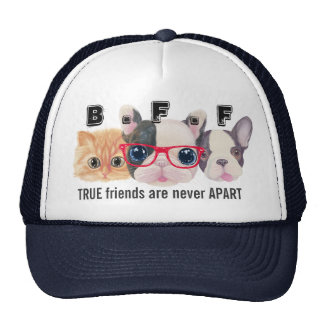 BFF Hat true friends are never apart