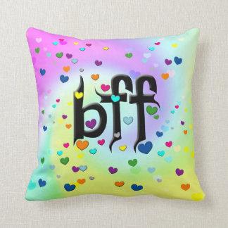 bff ~ hearts cushion