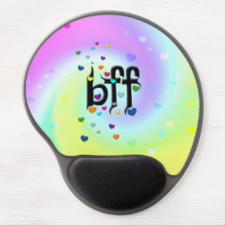 bff ~ hearts gel mouse pad