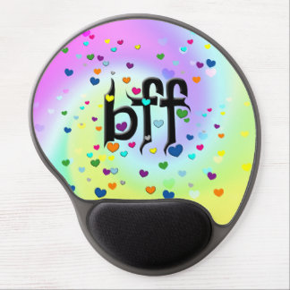 bff hearts gel mouse mat