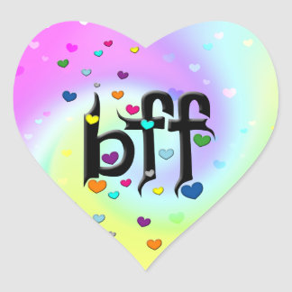 bff ~ hearts stickers
