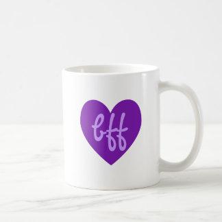 bff in Purple Coffee Mug