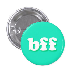 bff Internet Text Message Phrase 3 Cm Round Badge