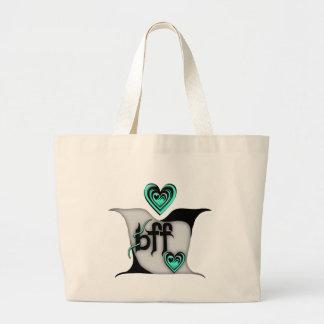 bff ~ lovebirds tote bag