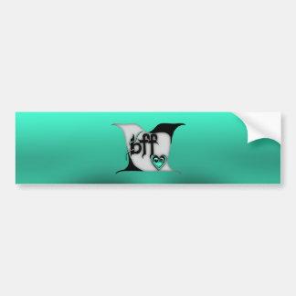 bff ~ lovebirds bumper sticker