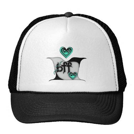 bff ~ lovebirds trucker hat