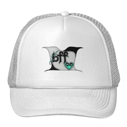 bff ~ lovebirds trucker hats
