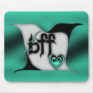 bff ~ lovebirds mouse pad