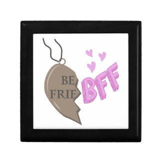 BFF Necklace Small Square Gift Box