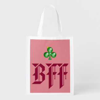 BFF Reusable (pink) Market Tote