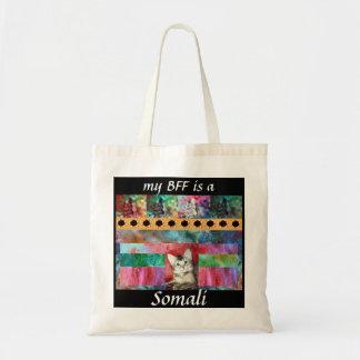 BFF Somali Cat Surprise Tote Bag