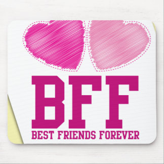 BFF THANK YOU! Best friends forever! Mouse Pad