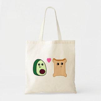 Bffs (Avocado Toast) Tote Bag