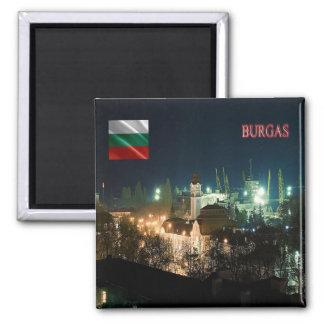 BG - Bulgaria - Burgas by Night Magnet