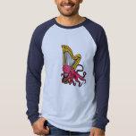 BG- Octopus Playing Harp Shirt