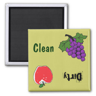 BH- Grapes and Apple Dishwasher Magnet