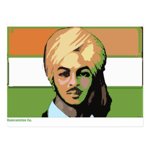 Bhagat Singh: A Revolutionary Hero Post Card