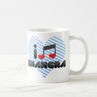 Bhangra fan coffee mug