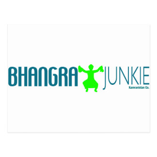 Bhangra Junkie Postcard