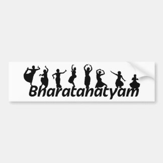 Bharatanatyam Bumper Sticker