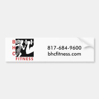 BHC Fitness Bumper Sticker