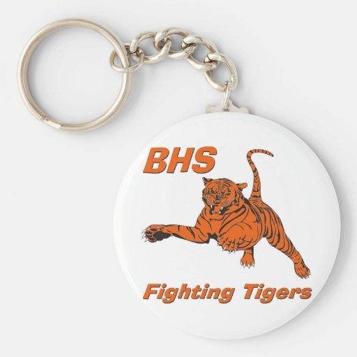 BHS Fighting Tigers Keychain