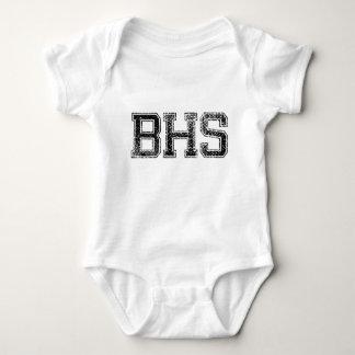 BHS High School - Vintage, Distressed Baby Bodysuit
