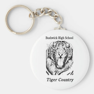 BHS Tiger Country Keychain