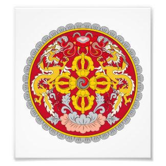 Bhutan Coat Of Arms Photograph
