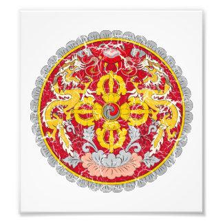 Bhutan Coat Of Arms Photographic Print