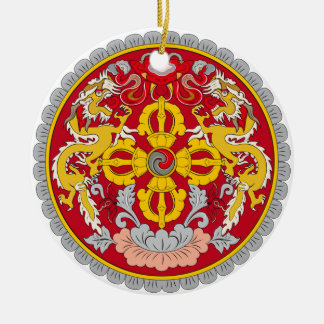 BHUTAN*- Custom Christmas Ornament