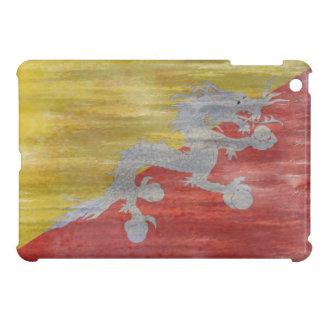 Bhutan distressed flag iPad mini cases