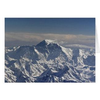 BHUTAN. Eternal snow on the Everest Mountain, Card