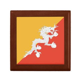 Bhutan Flag Gift Box