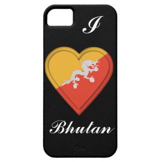 Bhutan flag iPhone 5 cases
