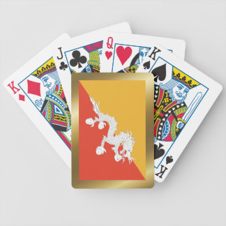 Bhutan Flag Playing Cards