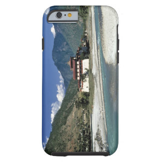 Bhutan, Punaka. The Mo Chhu River flows past Tough iPhone 6 Case