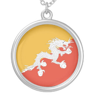 BHUTAN SILVER PLATED NECKLACE
