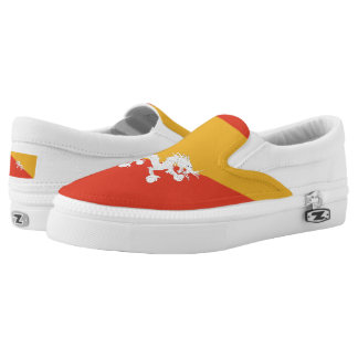 Bhutanese flag Slip-On shoes