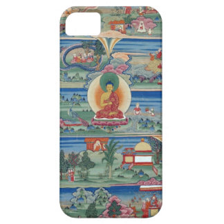 Bhutanese painted thanka of the Jataka Tales Barely There iPhone 5 Case
