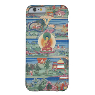 Bhutanese painted thanka of the Jataka Tales Barely There iPhone 6 Case