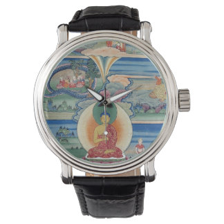 Bhutanese painted thanka of the Jataka Tales Wristwatches