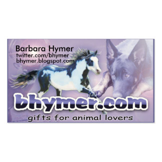 bhymer-business-card pack of standard business cards