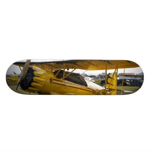 Bi Plane Custom Skate Board